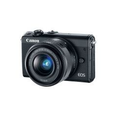 Canon EOS M100 Zwart +15-45mm