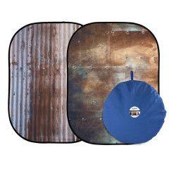 Lastolite Urban Collapsible 150x210cm  - Corrugated/Metal