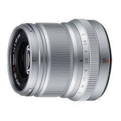Fujifilm XF 50mm f/2.0 R WR - Zilver