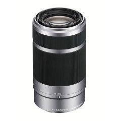 Sony 55-210mm f/4.5-6.3 OSS E-mount Zilver
