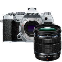 Olympus OM-D E-M5 Mark III Zilver + 12-45mm PRO