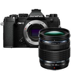 Olympus E-M5 Mark III Zwart + 12-45mm PRO