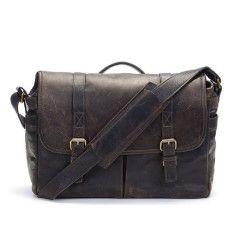 ONA The Brixton Bag Leather Dark Truffle