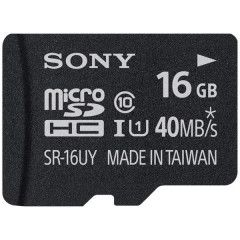 Sony ultra micro SDHC 16GB Class 10 (incl. SD adapter)