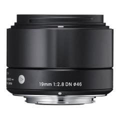 Sigma 19mm f/2.8 DN Art Micro 4/3 - Zwart