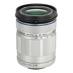Olympus M.Zuiko Digital ED 40-150mm f/4.0-5.6 R Zilver