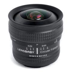 Lensbaby Circular fisheye lens Micro Four Thirds