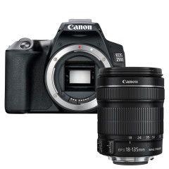 Canon EOS 250D Zwart + 18-135mm IS STM