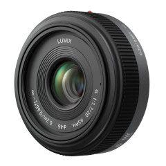 Panasonic Lumix G 20mm f/1.7 II - Zwart