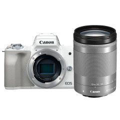 Canon EOS M50 Wit + 18-150mm IS STM