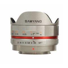 Samyang 7.5mm f/3.5 UMC Micro 4/3 - Zilver