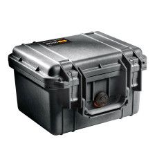 Peli Case 1300 Black 25,1x17,8x15,5cm (plukschuim interieur)