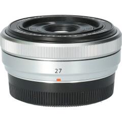 Tweedehands Fujifilm XF 27mm f/2.8 - Zilver CM4642