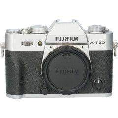 Tweedehands Fujifilm FinePix X-T20 Body Zilver CM1107