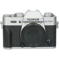 Tweedehands Fujifilm FinePix X-T20 Body Zilver CM1674