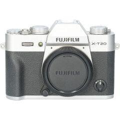 Tweedehands Fujifilm FinePix X-T20 Body Zilver CM0570