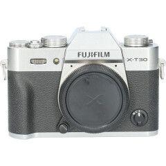 Tweedehands Fujifilm X-T30 Body Silver CM1615