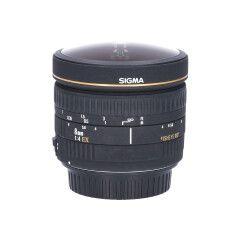 Tweedehands Sigma 8mm f/4.0 EX Circ.Fisheye Canon EF CM8491