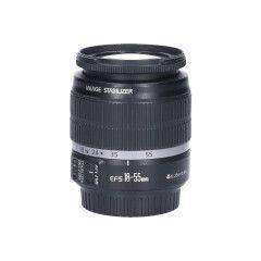 Tweedehands Canon EF-s 18-55mm f/3.5-5.6 IS CM8519