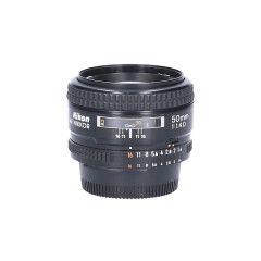 Tweedehands Nikon AF 50mm f/1.4D CM8209