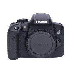 Tweedehands Canon EOS 750D Body Sn.:CM1908