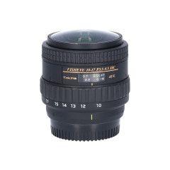 Tweedehands Tokina 10-17mm f/3.5-4.5 AT-X 107 AF DX Fisheye Nikon Sn.:CM2723