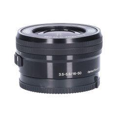 Tweedehands Sony Nex 16-50mm f/3.5-5.6 - Zwart Sn.:CM2735