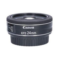 Tweedehands Canon EF-S 24mm f/2.8 STM Sn.:CM2741
