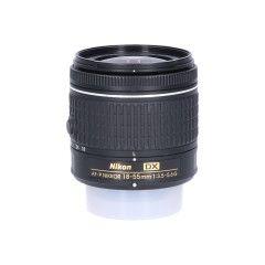 Tweedehands Nikon AF-P DX 18-55mm f/3.5-5.6 G VR Sn.:CM3785