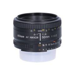 Tweedehands Nikon AF 50mm f/1.8D Sn.:CM4187