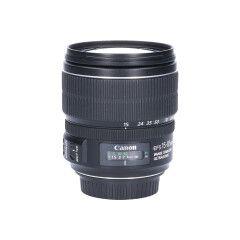 Tweedehands Canon EF-S 15-85mm f/3.5-5.6 IS USM Sn.:CM5347