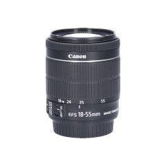 Tweedehands Canon EF-S 18-55mm f/3.5-5.6 IS STM Sn.:CM5117