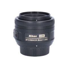 Tweedehands Nikon AF-S 35mm f/1.8G DX Sn.:CM6761