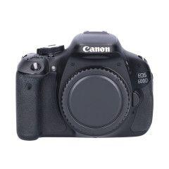 Tweedehands Canon Eos 600D Body Sn.:CM1556