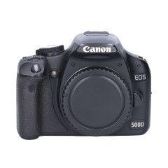 Tweedehands Canon EOS 500D - Body Sn.:CM1608