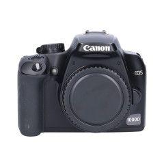 Tweedehands Canon EOS 1000d Body Sn.:CM1607