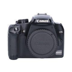 Tweedehands Canon EOS 1000d Body Sn.:CM1606