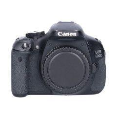 Tweedehands Canon Eos 600D Body Sn.:CM1528