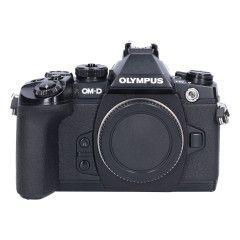 Tweedehands Olympus E-M1 Zwart - Body Sn.:CM1943