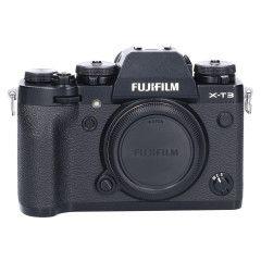 Tweedehands Fujifilm X-T3 Body Zwart  Sn.:CM2178