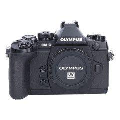 Tweedehands Olympus E-M1 Zwart - Body Sn.:CM2380