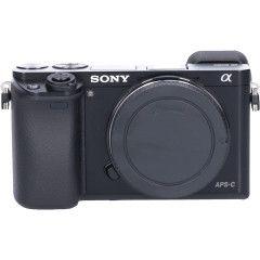 Tweedehands Sony A6000 Body Zwart Sn.:CM2734