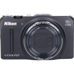 Tweedehands Nikon Coolpix S9700 - Zwart Sn.:CM2729
