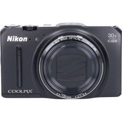 Tweedehands Nikon Coolpix S9700 - Zwart Sn.:CM2728