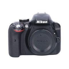 Tweedehands Nikon D3300 body zwart Sn.:CM3787