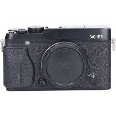 Tweedehands Fujifilm Finepix X-E1 Zwart Body Sn.:CM4499