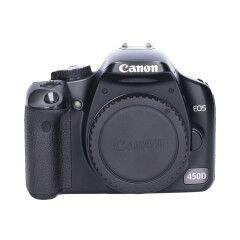 Tweedehands Canon EOS 450D - Body Sn.:CM4381