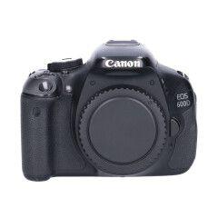 Tweedehands Canon Eos 600D Body Sn.:CM4845