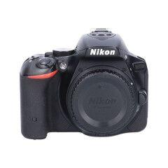 Tweedehands Nikon D5500 zwart - Body Sn.:CM4959
