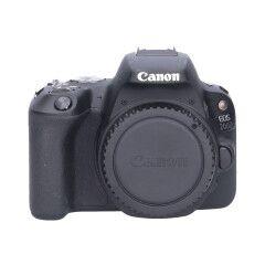 Tweedehands Canon EOS 200D Body Zwart Sn.:CM5118